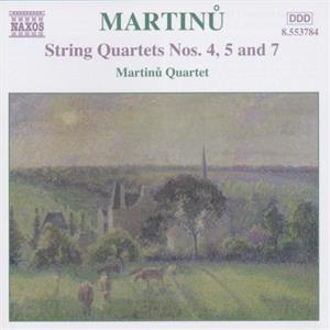 Bohuslav Martinu String Quartets Volume 3 / Naxos