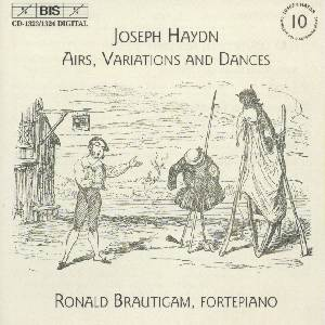 Haydn, Complete Solo Keyboard Music Vol. 10 / BIS