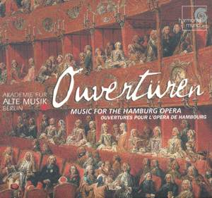 Ouvertüren – Music for the Hamburg Opera / harmonia mundi