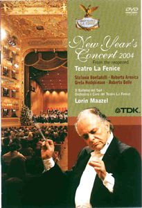 New Year's Concert 2004 from the reopened Teatro La Fenice / TDK