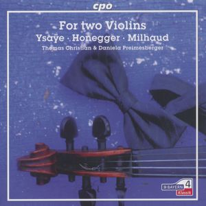 For Two Violins / cpo
