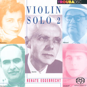 Violin Solo Vol. 2, Renate Eggebrecht / Troubadisc
