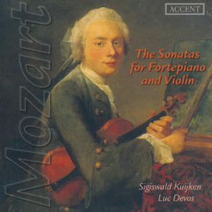 Mozart The Sonatas for Fortepiano and Violin / Accent