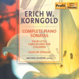 Erich Wolfgang Korngold Complete Piano Sonatas / Profil