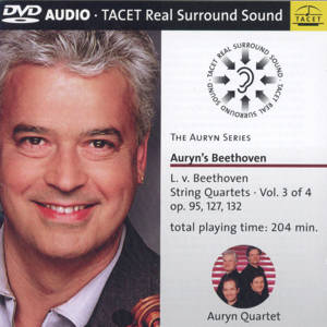 Auryn's Beethoven, String Quartets vol. 3 / Tacet