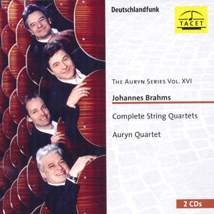 The Auryn Series Vol. XVI, Johannes Brahms - Complete String Quartets / Tacet