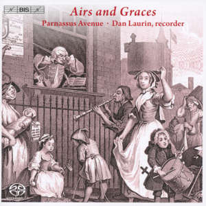 Airs and Graces Scottish Tunes and London Sonatas / BIS
