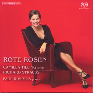 Rote Rosen Songs by Richard Strauss / BIS