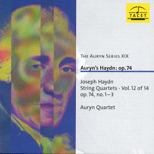 The Auryn Series XIX, Joseph Haydn: String Quartets op. 74 / Tacet