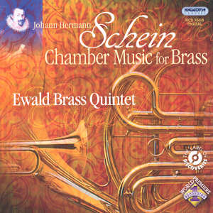 Johann Hermann Schein, Chamber Music for Brass / Hungaroton