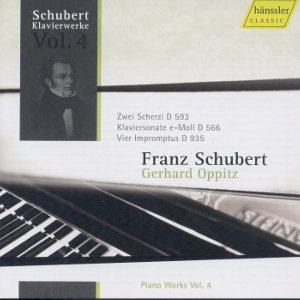 Franz Schubert: Piano Works Vol. 4 / hänssler CLASSIC