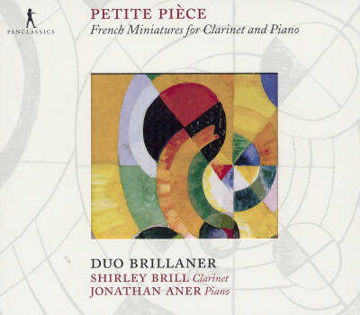Petite Pièce French Miniatures for Clarinet and Piano / Pan Classics