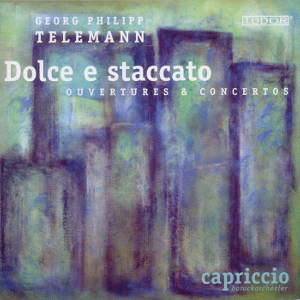 Georg Philipp Telemann, Dolce e staccato - Ouvertures & Concertos / Tudor