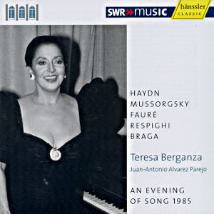 Teresa Berganza, An Evening of Song 1985 / SWRmusic