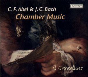 C.F. Abel & J.C. Bach Chamber Music / Accent