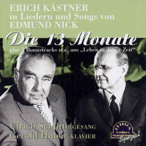 Erich Kästner in Liedern und Songs von Edmund Nick / duo-phon-records