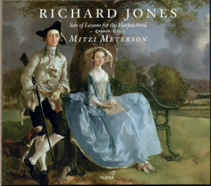 Richard Jones Suits or Setts of Lessons for the Harpsicord or Spinnet / Glossa