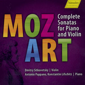 Mozart Complete Sonatas for Piano and Violin / hänssler CLASSIC