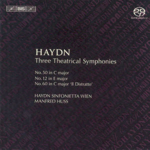 Joseph Haydn Three Theatrical Symphonies / BIS