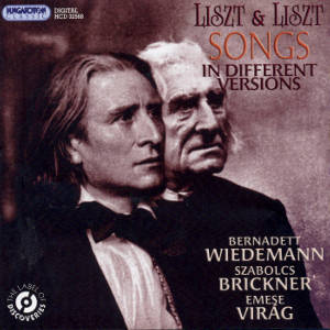 Ferenc Liszt Songs in different versions / Hungaroton