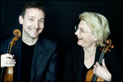 Oliver Wille und Antje Weithaas, Foto: Georgia Bertazzi